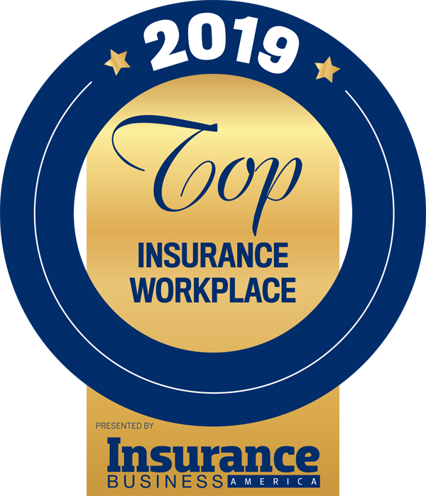 Hanson and Ryan 2019 Top Insurance Workplace Award