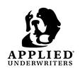 Applied Underwriters Logo Featuring a Dog