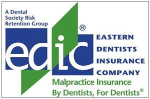Eastern Dentists Insurance Company Logo, Malpractice Insurance by Dentists for Dentists, a Dental Society Risk Retention Group