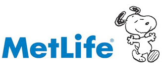 Met Life Logo Featuring Snoopy