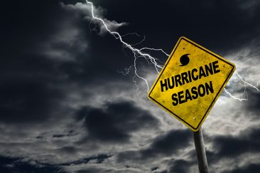 Hurricane Season sign