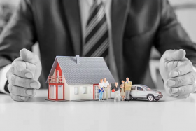 Hands over home and property coverage